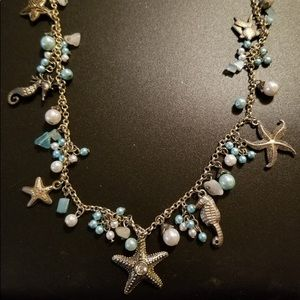 """Jewelry - Woman's """"Of the Sea"""" Fashion Necklace"""